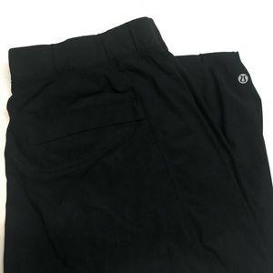 Lululemon Large Pants Loose Pockets Black Solid